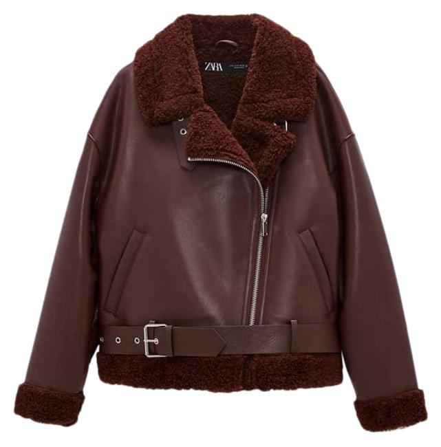 Item - Red Double-faced Burgundy Large Jacket Size 12 (L)