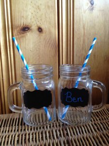 Mason Jar Mugs - Listing For Allison Wedding Favors