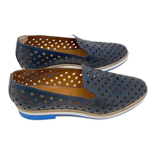 Item - Navy Zanna Perforated Waterproof Loafers Flats Size US 9.5 Regular (M, B)