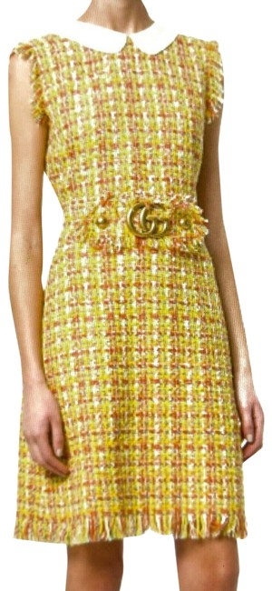 Item - Yellow Short Night Out Dress Size 6 (S)