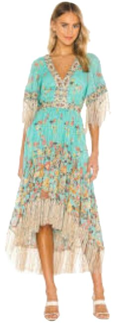 Item - Multicolor Mid-length Casual Maxi Dress Size 2 (XS)
