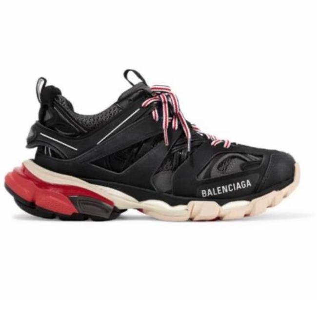 Item - Track Trainer Logo Detailed Dad Sneakers Size EU 42 (Approx. US 12) Regular (M, B)