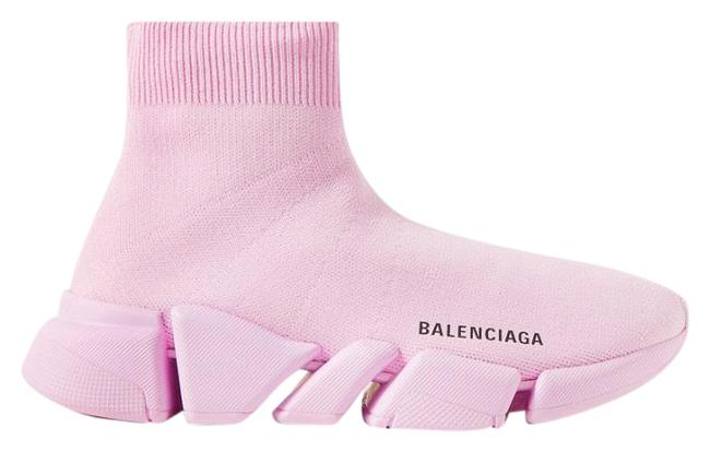 Item - Pink Speed 2.0 Trainer Sock Sneakers Size EU 40 (Approx. US 10) Regular (M, B)