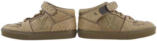 Item - Brown Mens 8.5 Python Alcapulco High Top Trainer 456lvs33 Sneakers Size US 7.5 Regular (M, B)