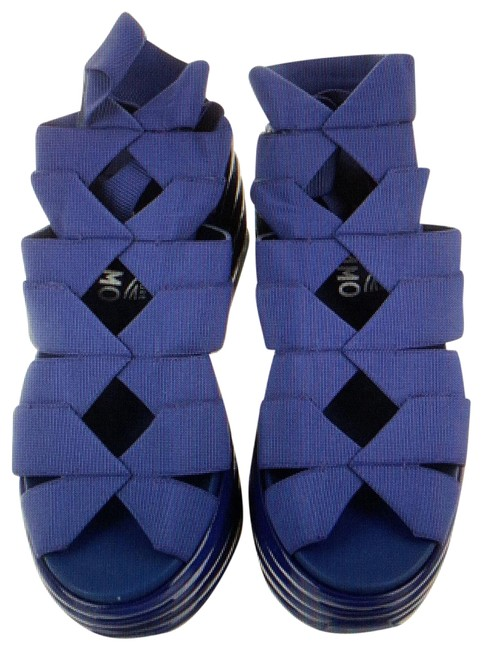 Item - Blue Eiko Sandals Size EU 36.5 (Approx. US 6.5) Wide (C, D)