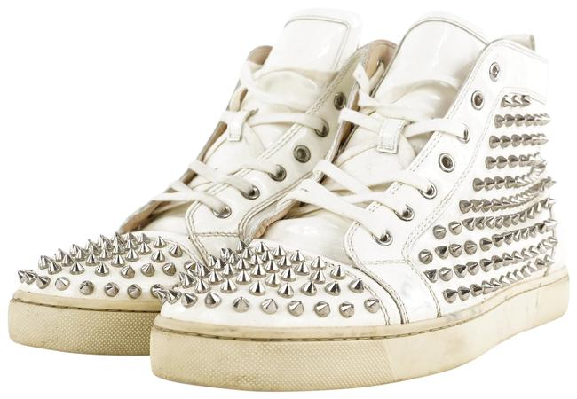 Item - White Men's Spike Pik Pik Louis Rantus 462cl33 Sneakers Size EU 44 (Approx. US 14) Regular (M, B)