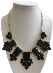 "Kate Spade Nwt Kate Spade Daylight Jewels Black Stones Gold Tone Necklace 17""-20"""
