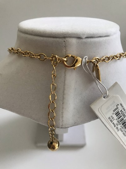 Kate Spade Nwt Kate Spade Gold Tone Black Stones Daylight Jewels Necklace 17