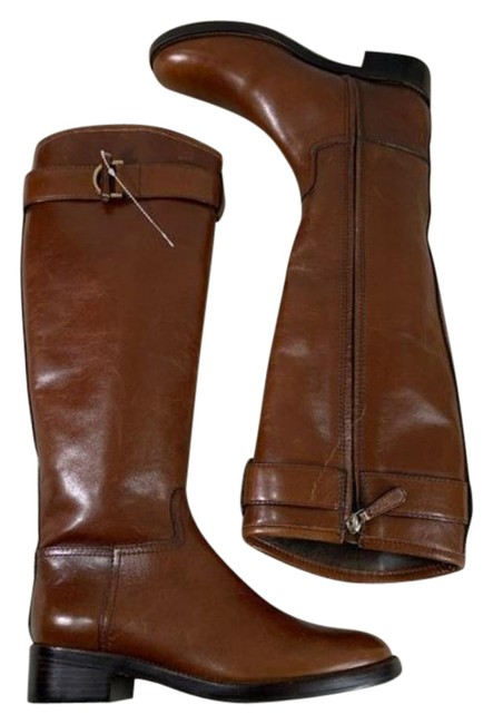 Item - Brown New Grace Riding Leather Boots/Booties Size US 6 Regular (M, B)