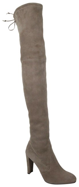 Item - Taupe Women's Highland Suede Over-the-knee 9.5m Boots/Booties Size US 9.5 Regular (M, B)
