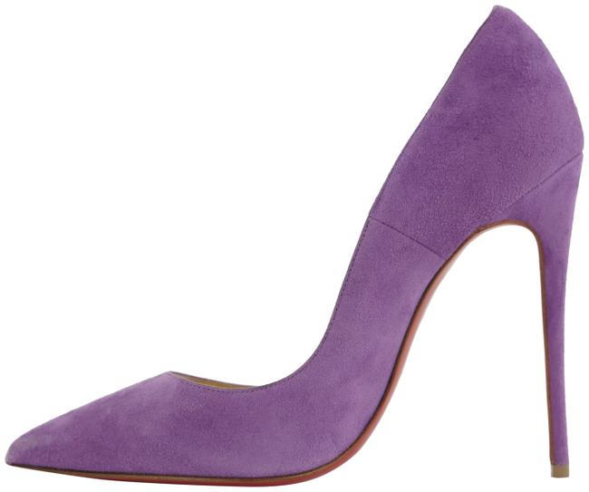 Item - Purple 36 Suede So Kate Red Bottom Heels 463cl33 Pumps Size EU 35.5 (Approx. US 5.5) Regular (M, B)
