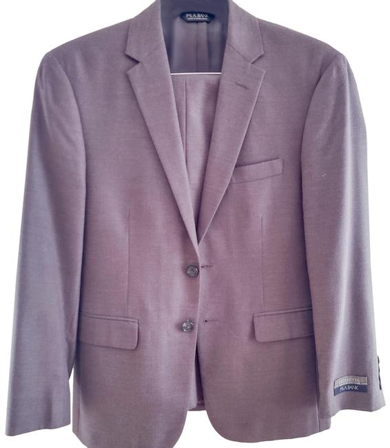 Item - Brown Crossover Slim Fit Pant Suit Size 8 (M)