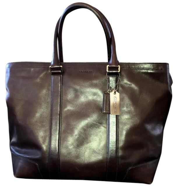 Item - Bleecker XL Unisex Business Tote Brown Leather Weekend/Travel Bag