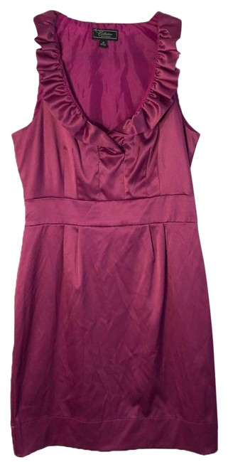 Item - Purple Collection Ruffle 286 Cocktail Dress Size 10 (M)