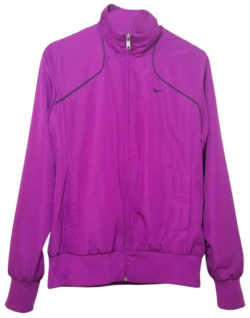 Item - Pink Athletic Track Wind Breaker Running Activewear Outerwear Size 12 (L)