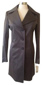 Tahari Satin Evening Trench Coat
