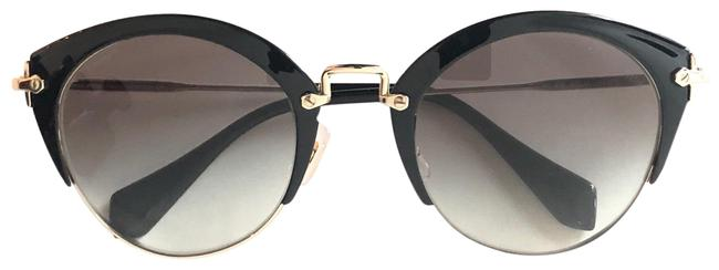Item - Black New Rounded Cat Eye Style - Smu 53r - Free 3 Day Shipping Sunglasses