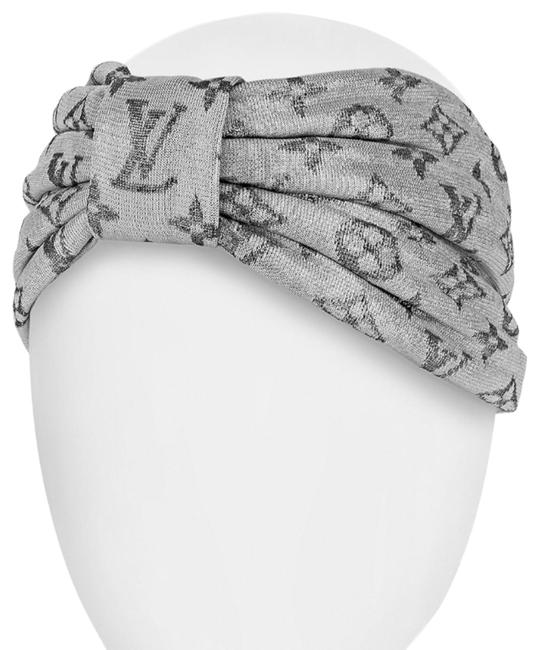 Item - Silver Turban Pool Party Silk Head Band Covering Hair Accessory
