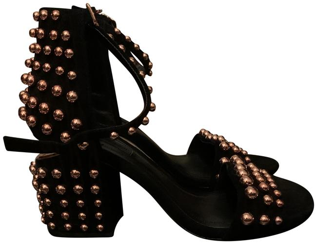 Item - Black Abby Sandals Size EU 37 (Approx. US 7) Regular (M, B)