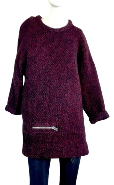 Item - No Red Purple Sweater