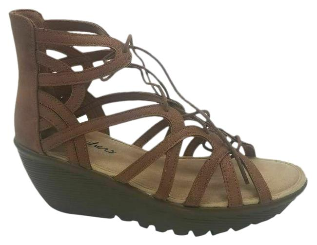 Item - Beige Womens Parallel Terrace Gladiator Sandals Size US 9.5 Regular (M, B)