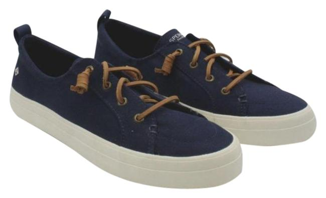 Item - Blue The Easy Style and Crisp White Platform Design Of Crest Vibe Boots/Booties Size US 10 Regular (M, B)