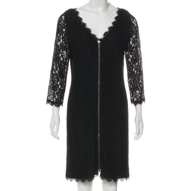 Item - Lace Midi Mid-length Night Out Dress Size 12 (L)