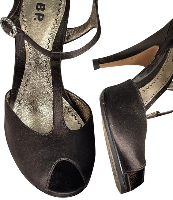 Item - Brown Satin Exclusive with Rhinestoned Buckle Pumps Size US 5.5 Regular (M, B)