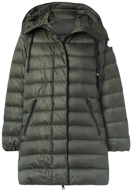 Item - Army Green Gnosia Hooded Quilted Shell Down Jacket Coat Size 8 (M)