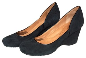 Gentle Souls Black Wedges