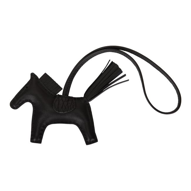 Item - Black So Horse Rodeo Touch Bag Charm Pm