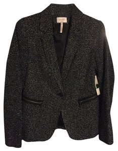 Laundry by Shelli Segal Black/white/silver Blazer