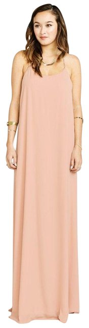 Item - Dusty Blush T-rex Gown Long Casual Maxi Dress Size 2 (XS)