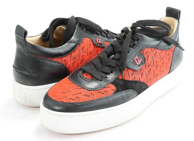 Item - Red/Black Happyrui Flat Version Smoothie Sneakers Shoes