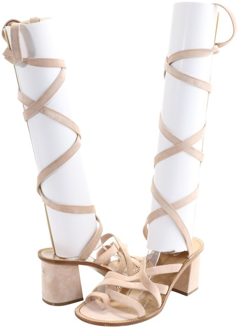 Item - Cream Gladiator Sandals Size EU 38 (Approx. US 8) Regular (M, B)