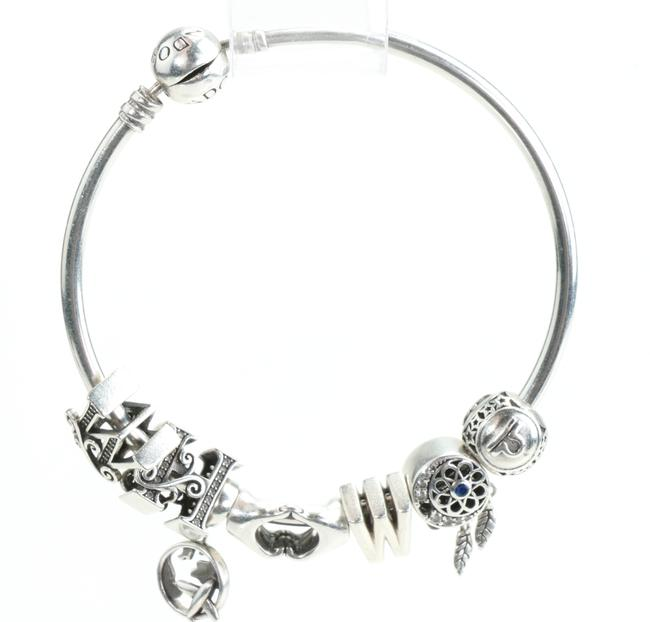 Item - Silver With Charms Bracelet