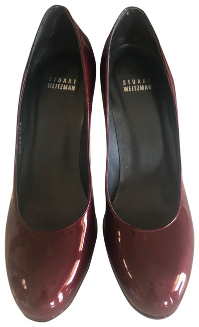 Item - Cherry Red Patent Leather Pumps Size US 7.5 Regular (M, B)