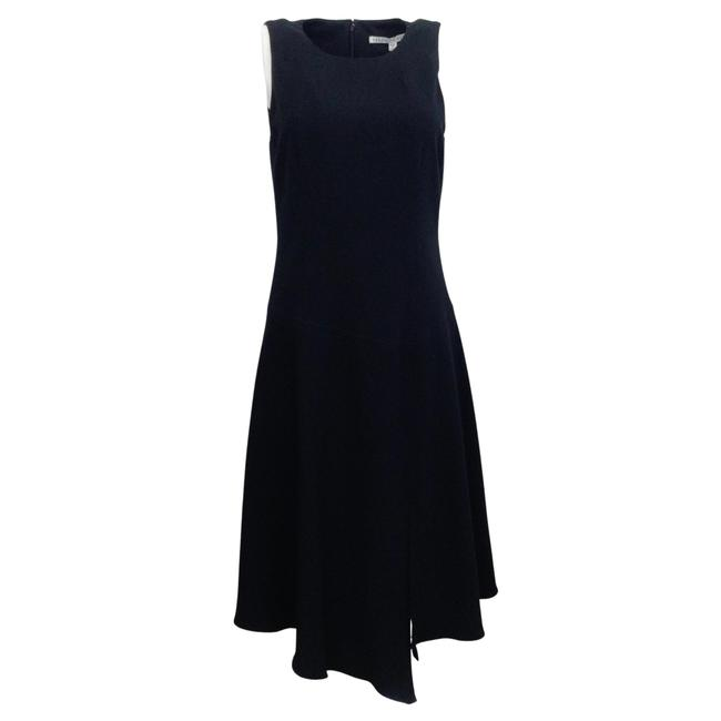 Item - Navy Blue Angelica Mid-length Work/Office Dress Size 6 (S)