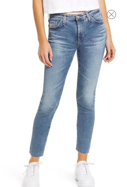 Item - Light Wash The Prima Ankle Skinny Jeans Size 8 (M, 29, 30)
