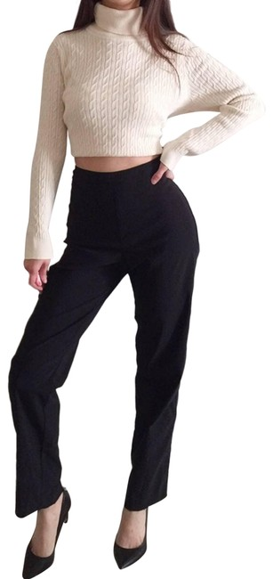 Item - Black Stretchy Trousers.-g10. Activewear Bottoms Size 10 (M, 31)