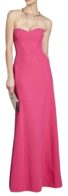 Item - Pink Surrey Strapless Fitted Bustier Gown Long Formal Dress Size 2 (XS)