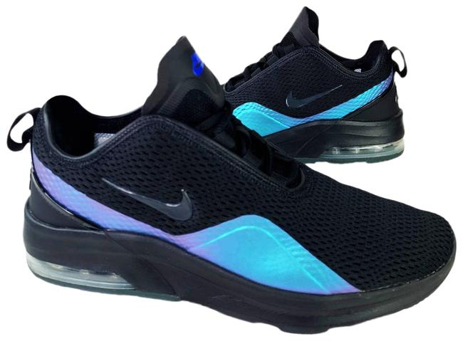 Item - Black Air Max Motion 2 Low Top Anthracite Racer Blue Gym Sneakers Size US 7 Regular (M, B)