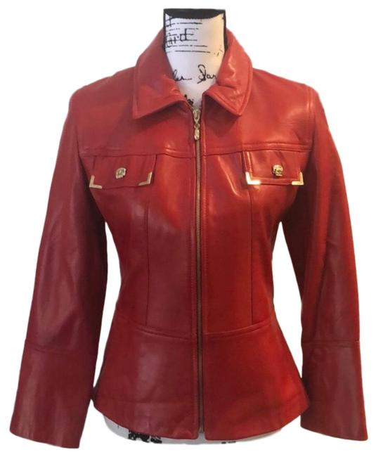 Item - Red Marie Gray Jacket Size 2 (XS)