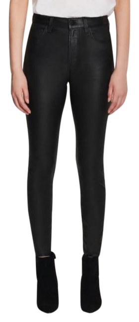 Item - Black Leenah High Rise Leather Pants Size 2 (XS, 26)