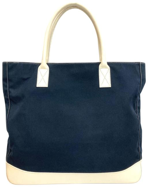 Item - Navy & White Canvas Tote