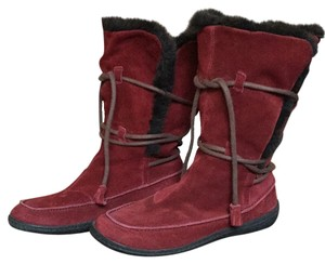 Camper Rich Red Boots