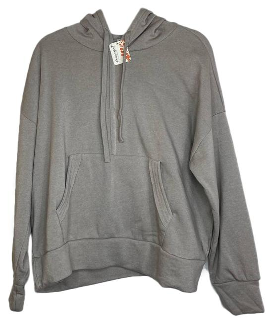 Item - Gray Movement Work It Out Hoodie - Large - Activewear Top Size 12 (L)