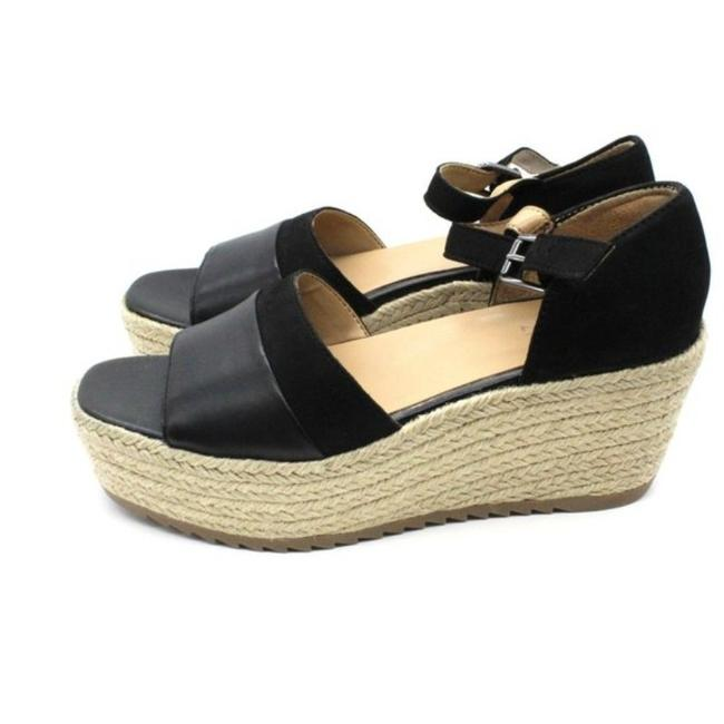 Womens Soul Naturalizer Nifty City Sandals Black Smooth