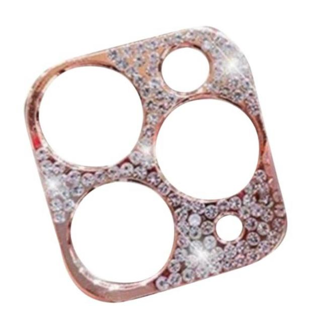 Item - Rose Gold Ultra Luxe Premium Swarovski Camera Lens Cover For Iphone 11 Pro and Iphone 11 Pro Max Tech Accessory
