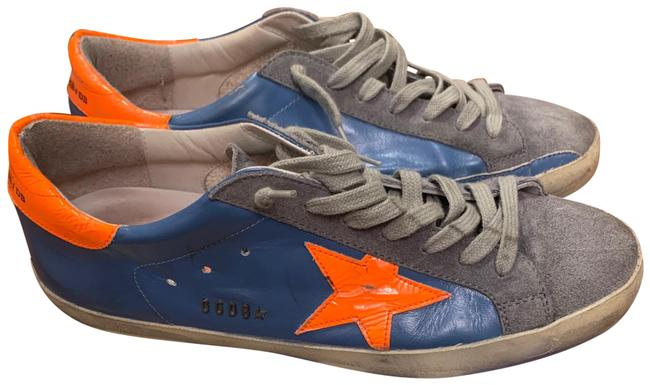 Item - Sky Orange Fluo Star Superstar Sneakers Size EU 43 (Approx. US 13) Regular (M, B)